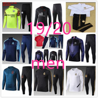 futbol xl al por mayor-19 20 Atletico Madrid adult real madrid psg liverpool barcelona inter milan ajax juventus soccer training suit kit chándal de fútbol chandal futbol tracksuit jogging football