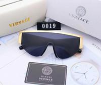 styles de lunettes pour hommes achat en gros de-Lunettes de soleil de concepteur lunettes de soleil de luxe pour hommes Womens Adumbral Lunettes UV400 Style V0019 6 couleurs de haute qualité avec la boîte