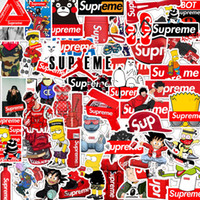 Wholesale personalized luggage resale online - 50 Mixed Car Stickers Ins Super Popular Me For Skateboard Laptop Pad Bicycle Motorcycle PS4 Phone Luggage Decal Pvc guitar Stickers