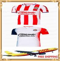 Wholesale quality best jerseys resale online - DHL best quality America soccer Jerseys Chivas soccer Jerseys Size S XXL