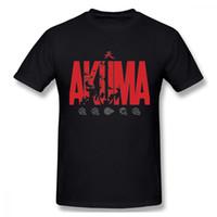 aussenseiter t shirts großhandel-Spiel Street Fighter Akuma Gouki T-Shirt Männlicher Geek Camiseta Organic Cotton Awesome T-Shirt