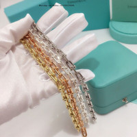 schnappt schmuck china großhandel-Mode einstellbare Gold Armband Marke Mädchen Charme Zirkonia für Frauen Snap Schmuck