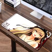 ingrosso immagine libera bella-FFFAS 70 * 40cm Cartoon mouse pad animazione Lovely Music Girl HD qualità dell'immagine Notebook computer PC Periferiche Spedizione gratuita