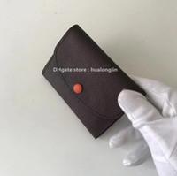 скидки на фирменные кошельки оптовых-Продажа Скидки качества женщины сумка сумка кошелек из натуральной кожи кошелька бренд дизайнер Damier цветочных букв шашек плед