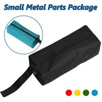 Wholesale drill cases online – custom 1pcs Waterproof Canvas Hand Tool Bag Organizer Instrument Case Bags for Small Tools Screws Nails Drill Bit Metal Parts