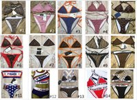 Wholesale bath clothes for sale - Group buy 100 Style Luxury Designer Lady Summer Beach Sexy Bikini Underwear Pieces Swimwear Womens Swimsuit Swimming Bathing Clothes Swimsuits Knot