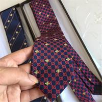 ingrosso stretto legame-2019 alta qualità 100% seta cravatta regalo di marca classica edizione di lusso casual da uomo stretto cravatta 7,5 cm