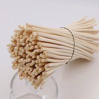 difusor de caña de aroma al por mayor-3x22 CM Reed Diffuser Sticks Wood Rattan Reed Sticks Fragancia Aceite esencial Aroma Difusor Sticks para usar con botellas de vidrio difusor