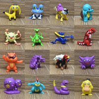 Wholesale figures for sale - Group buy High Quality Style Pikachu Charmander Bulbasaur Squirtle Eevee Dragonite Snorlax PVC Mini Action Figures Doll For Child Best Gifts cm