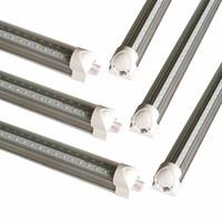 Wholesale led smd flash for sale - Group buy Best quality V Shaped ft ft ft ft Cooler Door Led Tubes T8 Integrated Led Tubes SMD2835 Led flash Lights AC V