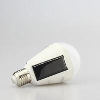 luzes da casa solar venda por atacado-Solar Powered LED Lâmpada Luz com alta temperatura e resistência Shatter da Habitação Actividades ao Ar Livre de Emergência Chargeable Bulb