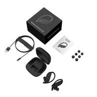 Wholesale top wireless sport headphones resale online - 2019 Power PRO B10 TWS Bluetooth Earphones Wireless Headphones Handsfree Headset Ear Hook In ear Sports Earbuds for iPhone Top Quality