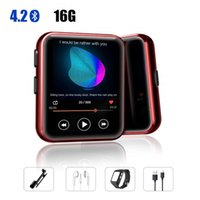 Wholesale sport clip for mp3 player for sale - Group buy Mini Clip Bluetooth4 MP3 Player with Inch Touch Screen Portable MP3 Music Player HiFi Sound Quality with FM for Sports
