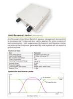 netz angeschlossener wechselrichter großhandel-Rücklaufsperre für Wechselrichter 1.5KW ~ 6KW, verhindern den Solarstromexport ins Netz
