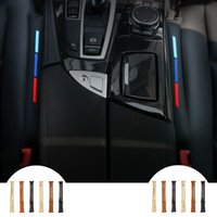 Wholesale black car seats for sale - Group buy 2Pcs Universal UseFaux Leather Auto Car Seat Gap Filler Pad Spacer Storage Slot Plug Suitable for BMW E90 F30 Audi Mercedes All Vehicles