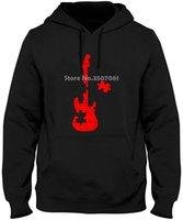 neueste gitarren großhandel-Autismus-Puzzlespiel-Gitarre Neueste Spitzen Mode Things Fremde Männer Hoodies-Sweatshirts