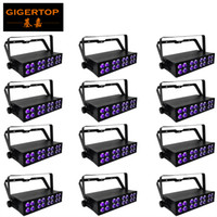 Wholesale unit wall for sale - Gigertop Units x3W UV Led Stage Effect Light Purple Color Club Background Effect DMX Lighting Bar Wall Washer Pixel UV Lighting