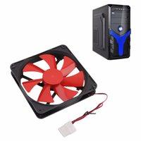 kullanılan bilgisayar pc toptan satış-Fan Soğutma Fanı Popüler Dayanıklı Kullanım PC Bilgisayar Kılıfı Soğutma 140MM Evrensel PC Bilgisayar