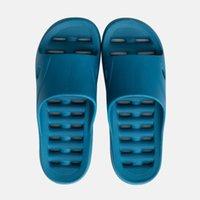 chinelo de plástico para homens venda por atacado-JN17 Novas sandálias e chinelos de verão interior e ao ar livre chinelos de plástico para casa homens mulheres banheiro banho slip home