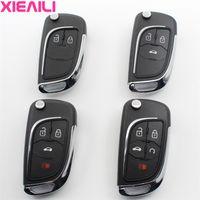 складной ключ кейс оптовых-XIEAILI OEM Модифицированный Флип Складные дистанционного ключа Дело Shell для Лова / Aveo / Cruze / Camaro / Malibu Брелок Дело S510