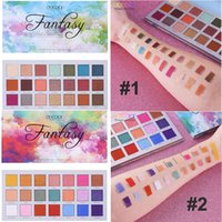 Wholesale smokey eye shadows for sale - Group buy Docolor Makeup Eye Shadow Palette Colors Fantasy Eyeshadow Matte Shimmer smokey Natural Eye Shadow Highly Pigmented brand beauty cosmetic