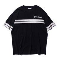 ingrosso angeli tessono-2019 New Palm Angel Angel New Weave Bandwidth Pine T-shirt manica corta in cotone e manica corta da uomo