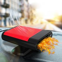 aquecedor 24v venda por atacado-New 12V / 24V portátil Auto Car Aquecedor com ar limpo Fan Air Cooler Pára-brisas Demister Defroster Fan do Windows Anti-fog Heater