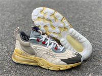 Wholesale trail running shoes resale online - Top Travis React Cactus Trails Mens Womens Running Shoes Light Cream Starfish Mica Green Dark SB Dunk Low Designer Sports Skateboard Shoes