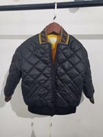 erkek çocuklar kışlık ceketler aşağı toptan satış-Ücretsiz kargo çocuk Aşağı Parkas 2-12 T kış çocuk giyim erkek kız erkek çocuklar için rahat sıcak kapüşonlu ceket katı erkek ılık mont