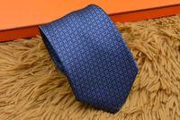 Wholesale tie packaging styles resale online - 8 style men s ties silk Letter embroidery tie men s tie party Neck Ties business casual tie gift box packaging H301
