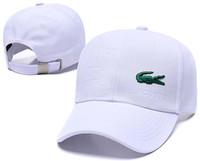 snapbacks de letras acrílicas al por mayor-Diseñador Gorras de béisbol de lujo para hombre polo Lacos Head Hat oro bordado hueso Hombres Mujeres casquette Sun Hat gorras Sport Cap envío gratis