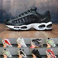zapatos casuales gris para hombre al por mayor-Nike TN plus Air Tailwind 4 Tn Tailwind 4 Zapatillas de running para hombre Blanco Gris Rojo Negro Verde Diseñador Zapatillas deportivas de deporte Entrenadores atléticos Tamaño