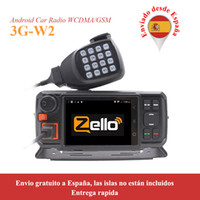 Wholesale android system car radio for sale - Group buy 3G Radio Car POC Moblie radio G W2 WCDMA GSM with WIFI GPS Function work with Real ptt or Zello platform W2 Android System