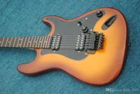 Wholesale st guitar floyd resale online - Floyd rose high quality Floyd rose st electric guitar real photo guitarra guitars