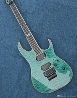 Wholesale factory price guitars for sale - Group buy Custom factory best price green electric guitar body black hardware customizable design