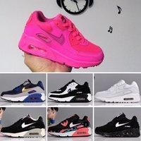 calzado niño chico al por mayor-Nike air max 90 zapatos de diseño para niños UB 5.0 Zapatos para niños Zapatillas Infant Ultra Calzado Deportivo para niños Zapatillas big boy girl