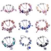 Wholesale seashell bracelet diy resale online - Top Quality New Summer Sterling Alloy Openwork Seashell Dreamcatcher Charms Fit Beads Bracelets Diy Accessories For Women Jewel