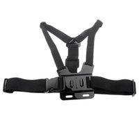 Wholesale post for camera resale online - Universal GPro Accessories Body Chest Mount Chesty Harness Shoulder Strap for GoHero Xiaomi Xiaoyi Camera by post