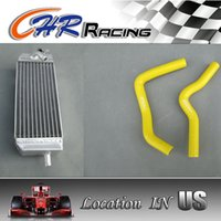 Wholesale radiator hoses for sale - Group buy aluminum radiator and hose Suzuki RM85 RM