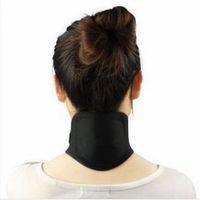 apoyo de cuello de calor al por mayor-Autocalentamiento Turmalina Cuello magnético Terapia de calor Soporte Cinturón Abrigo Brace Masajeador Herramientas de cuidado de la salud RRA1714