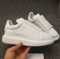 en iyi parti ayakkabıları toptan satış-Moda Lüks Tasarımcı Ayakkabı Kadın Erkek Eğitmenler En Deri Platformu Ayakkabı Düz Rahat Parti Düğün Ayakkabı Süet Spor Sneakers Loveres