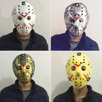 Wholesale jason voorhees masks for sale - Group buy Jason masks Terrorist masks For Adults Mask Scary Halloween Cosplay Festival Party Mask Jason Voorhees Skull Mask th Horror YSY104Q