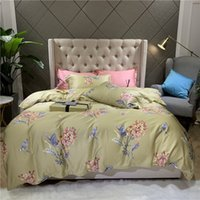 Wholesale new textile sheets for sale - Group buy Modern Bedding Set Pillow Sheet Pure Cotton Satin Quilt Cover New Chinese Style Home Textile m BeddingSet