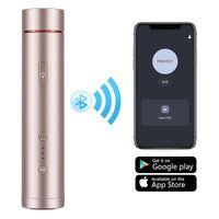 Wholesale pet smart locations resale online - Smart Personal Alarm for Women Mini Flashlight Strobe APP Location Recording Function Smart Self Defense for Women Elderly Children