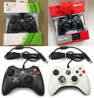 Wholesale games console accessories for sale - Group buy Wired USB Controller For Xbox Game Accessories Wired Gamepad Joypad Joystick For XBOX360 Microsoft Console PC Controle dhl free
