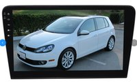 Wholesale vw car audio resale online - 10 Android Car DVD Player GPS radio audio auto navigation for VW Bora G RAM G ROM deckless