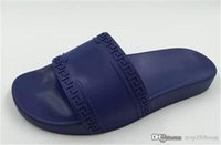 sapatos de marca europa venda por atacado-Moda Classic Europa Mens Marca Casual Air Beach Deslize Sandals Medusa Scuffs Chinelos Deslizamento-em Sandals caminhadas sapatos de caminhada 38-46