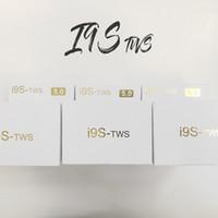 drahtloser unsichtbarer kopfhörer für telefone großhandel-I9S TWS Drahtlose Kopfhörer Tragbare Bluetooth Headset Unsichtbare musik Ohrhörer für IPhone X 8 7 Plus Xiaomi Android Handys huawei 20 stücke