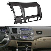 kits de tableau de bord honda achat en gros de-Gris Double Din Dash Radio voiture Kit de câblage Harnais Convient pour 2006-2011 Honda Civic