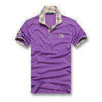 kleine t-shirts groihandel-Britischen königlichen klassischen stil männer designer baumwolle doppelte schnalle POLO shirt mode avantgarde fabrik direkt großhandel kleine logo design POLO
